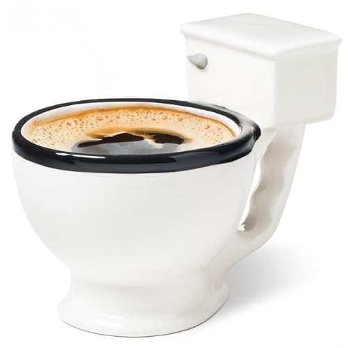 Toilet coffee Mug 12oz novelty gift ideas iwantthisandthat2