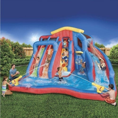 Backyard-Inflatable-Water-Park-slide-iwantthisandthat2