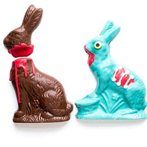 Zombie-Chocolate-Rabbit-Victim-iwantthisandthat2