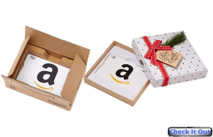 amazon gift cards winter christmas gift ideas for friends family coworkers iwantthisandthat2